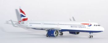 Airbus A321 NEO  BA British Airways Gemini Jets Collectors Model Scale 1:400 GJBAW1836  E